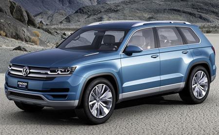 Volkswagen CrossBlue Concept, el SUV híbrido enchufable destinado al mercado norteamericano