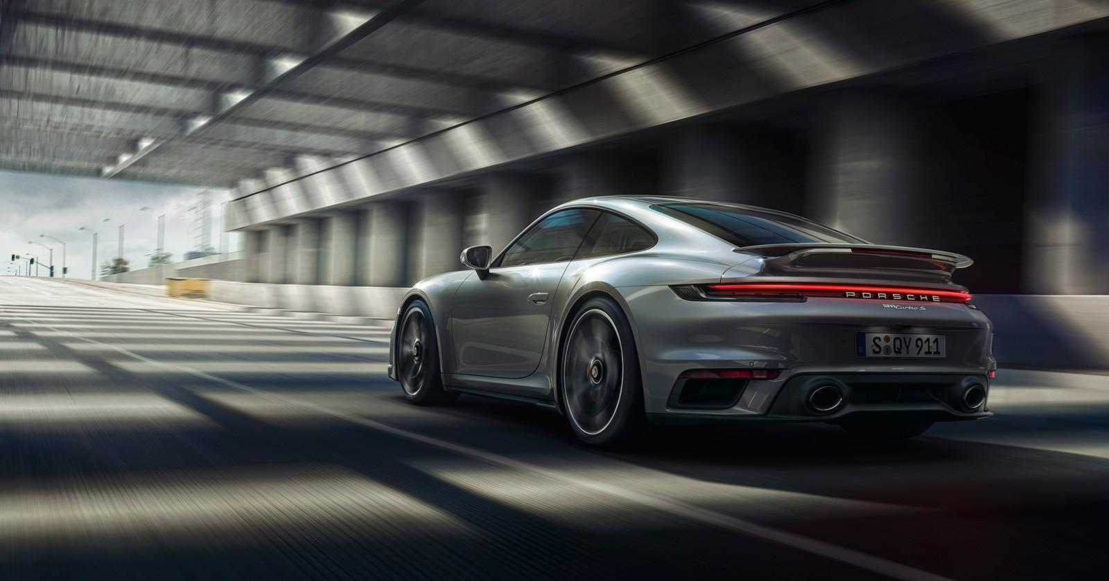 Foto de Porsche 911 Turbo S 2020 (1/18)