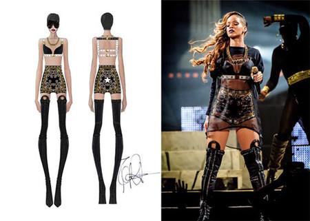 Outfit Rihanna