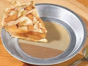 Molde para hacer tartas más crujientes