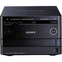 Sony HDMS-S1D, almacenamiento de fotos