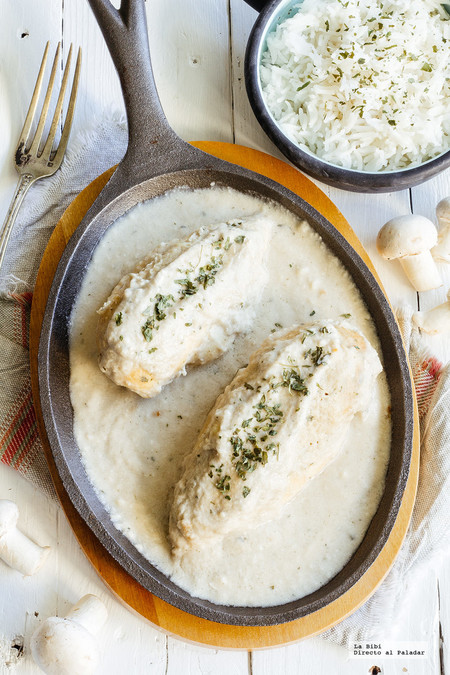 Pollo Crema