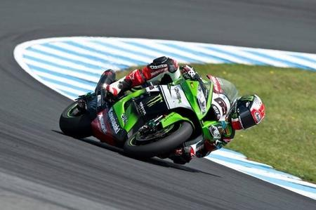 Jonathan Rea Aprilia Superbikes Phillip Island