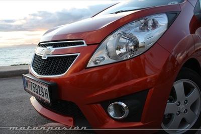 Chevrolet Spark, presentación y prueba en Atenas (parte 2)