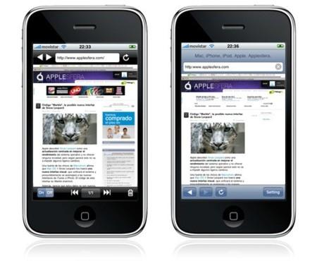 Apple da el visto bueno a nuevos navegadores para el iPhone / iPod touch