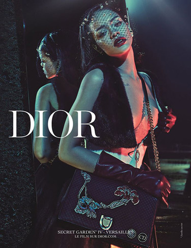 Rihanna debuta en el jardín secreto de Dior. La campaña más esperada ya está aquí (y nos gusta)
