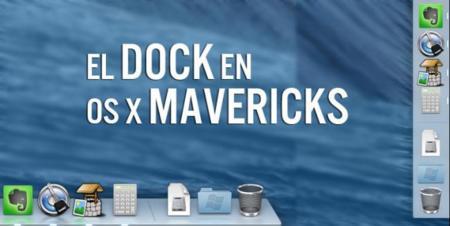 Adiós al Dock 2D en OS X Mavericks, o casi