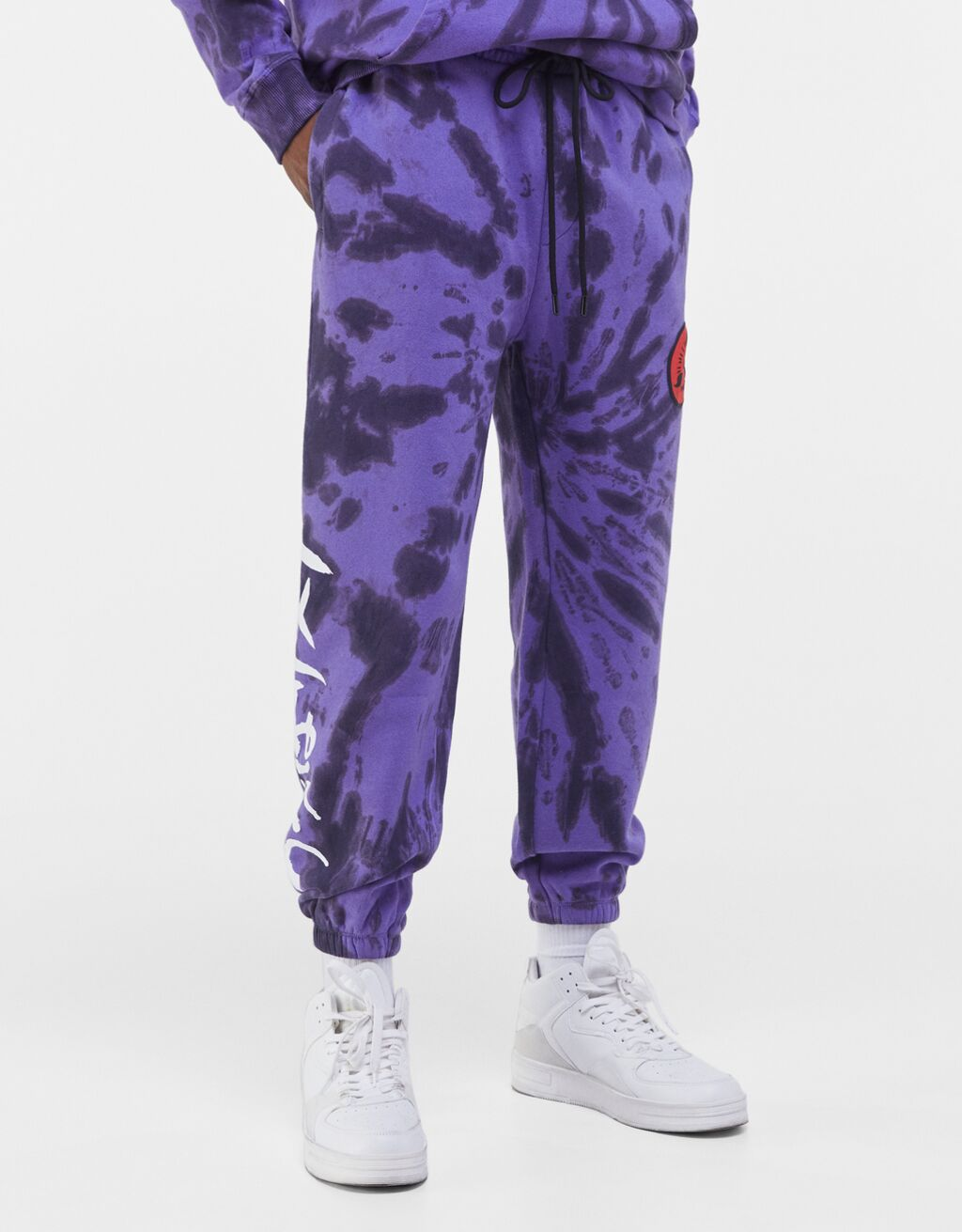 Pantalón Naruto con estampado tie dye