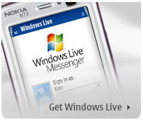 Windows Live para Nokia Nseries