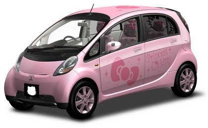 Mitsubishi 'i' Princess Kitty