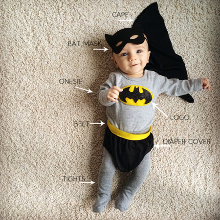 Diy Batman Costume 1