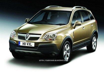 Opel Antara, primeras fotos oficiales