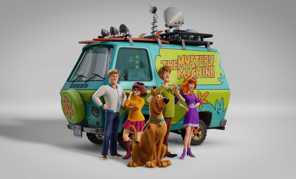 First images of 'Scoob!', the step of 'Scooby-Doo' the movie 3D animation that will premiere in 2020