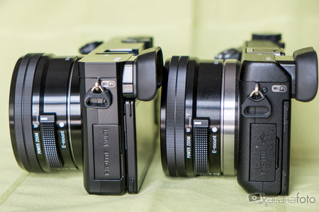 Sony A6000 vs Sony NEX-6