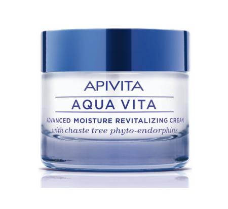 Nueva Aqua Vita de Apivita, la hidratante que protege de la contaminación ambiental