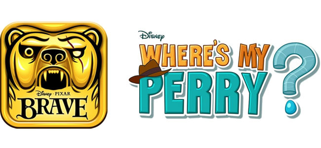 Temple Run: BRAVE y Where's my Perry?