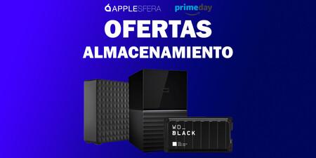 Ofertas en almacenamiento por el Prime Day 2020: rebajas en discos duros y NAS en Amazon