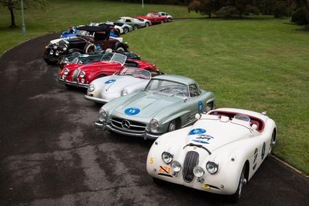 Se corrió una carrera conmemorativa a la Mille Miglia que empezó en EEUU y terminó en...¿Italia?