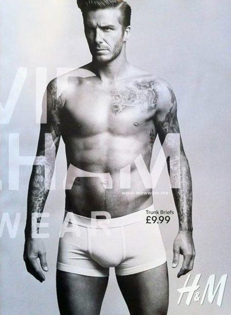 Primera imagen de la colección de ropa interior de David Beckham para H&M