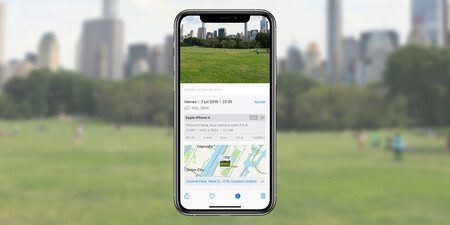 Cómo saberlo todo sobre una imagen con los datos EXIF que muestra Fotos en iOS 15
