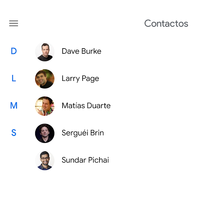 Contactos de Google 3.0 ya disponible: así es su nueva interfaz con Material Theming