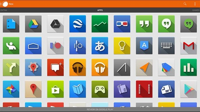 iconos android