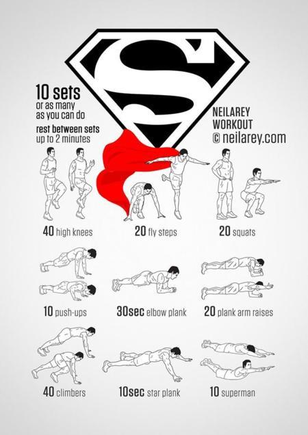 ¿Quieres entrenar como superhéroe?