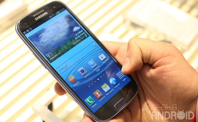 Foto de Samsung Galaxy SIII (1/16)