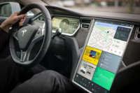 Bureau Oberhaeuser le enseña a Tesla cómo debería ser la interfaz de su pantalla gigante