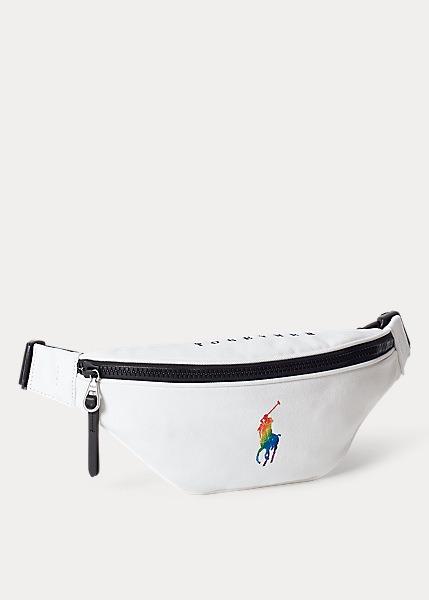 Riñonera de loneta Pride unisex