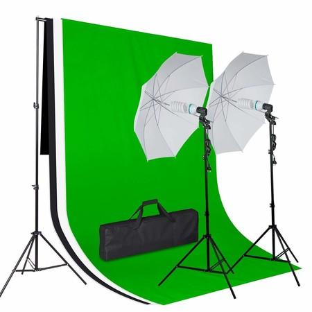 Cupón de descuento de 65 euros en este kit de iluminación para estudio de fotografía y vídeo: se queda en 54,99 euros en Amazon