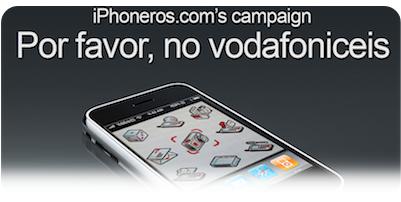 Iniciativa para que las operadoras no personalicen el iPhone