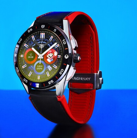 Tag Heuer Super Mario Smartwatch Diseno Oficial