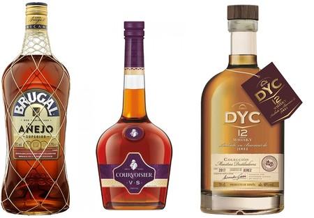 3 ofertas flash en Amazon en botellas de ron, whisky y cognac sólo hasta medianoche