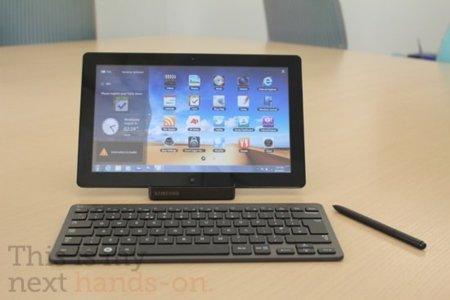 Series 7 Slate, Samsung sigue su propio camino