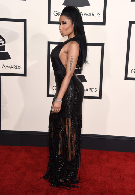 Nicki Minaj Tom Ford Grammy 2015