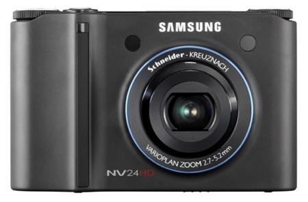 Samsung NV24 HD graba vídeo a 720p [CES 2008]