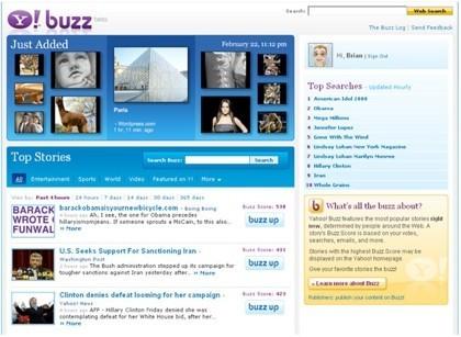 Yahoo! Buzz, otro clon de Digg