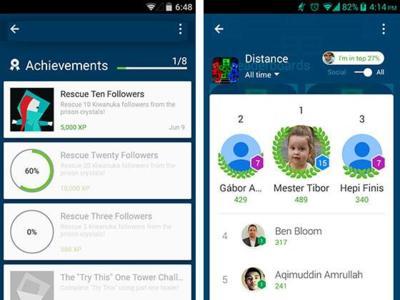 Google Play Games copia a Kiosko y también se une a la interfaz Material Design