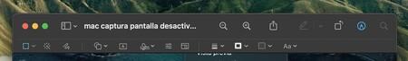 Vista Previa Mac Opciones Edicion