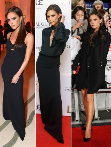 Victoria Beckham negro fiesta