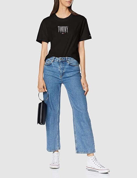 Tommy Jeans Mujer Embroidery Graphic Tee Camiseta