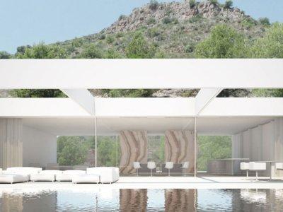 La casa de La Cantera de Ramón Esteve, un espectacular proyecto integrado en la montaña