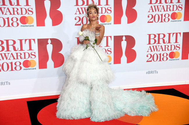 Rita Ora Brit Awards 2018