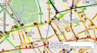 Metro de Londres en tiempo real a través de Google Maps