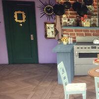 Tu casa de Los Sims puede ser muy bonita, sí, pero esta jugadora ha recreado los escenarios de la serie Friends y es una auténtica pasada