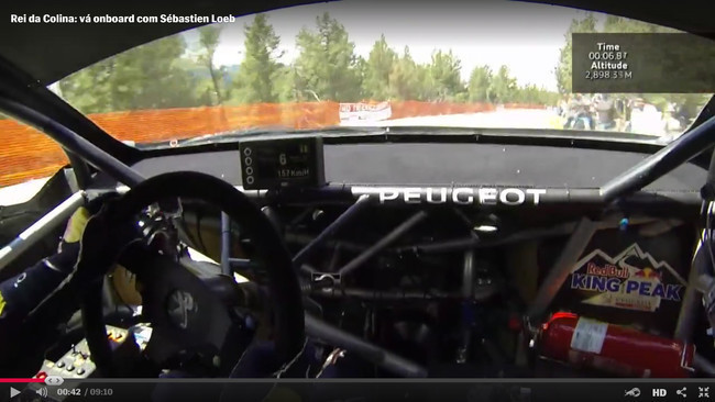 Sebastien Loeb video Pikes Peak