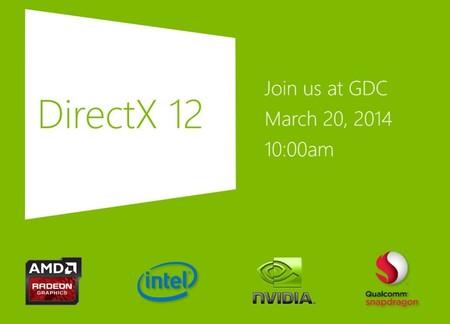 Microsoft mostrará DirectX 12 el próximo 20 de marzo en GDC 14