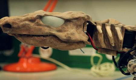 Este curioso robot fósil ha permitido saber cómo andaba un animal extinto hace 300 millones de años a partir de huesos y huellas