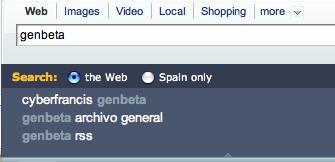 Novedades en el buscador de Yahoo